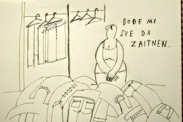 Tisja Kljaković Braić: karikature / caricaturi